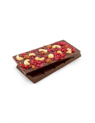 Шоколад с логотипом 100 г (с начинкой)