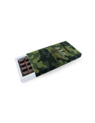 Шоколад с логотипом 200 г картонная упаковка