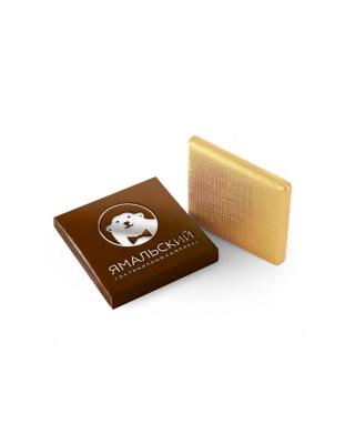 Шоколад с логотипом 5 г картонная упаковка