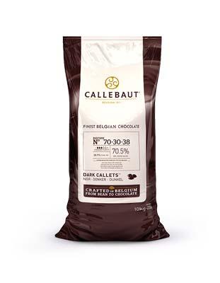 Шоколад темный Strong 70,5%  Callebaut (10кг)