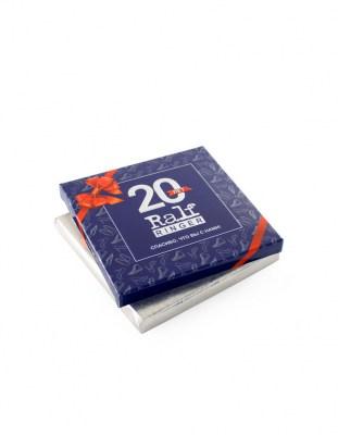Шоколад с логотипом 80 г картонная упаковка