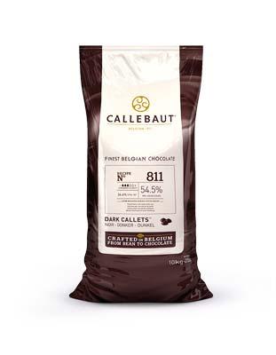 Шоколад темный Callebaut Select 54,5% (10 кг)