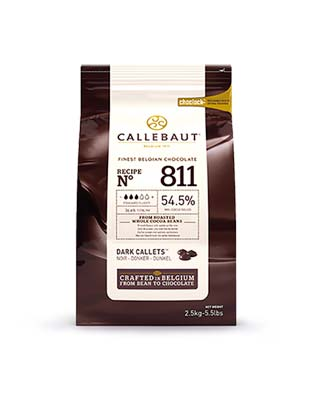 Шоколад темный Callebaut Select 54,5% (2,5 кг)