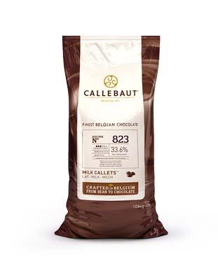 Шоколад молочный Callebaut Select 33,6% (10 кг)