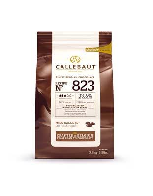 Шоколад молочный Callebaut Select 33,6% (2,5 кг)