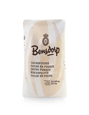 Обезжиренный какао порошок Bensdorp 1% (22,68 кг)