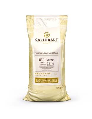 Шоколад  белый Velvet (10кг) Callebaut