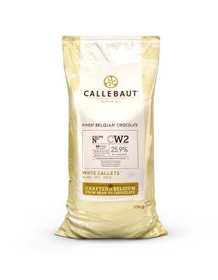 Шоколад белый Callebaut CW2 (10 кг)
