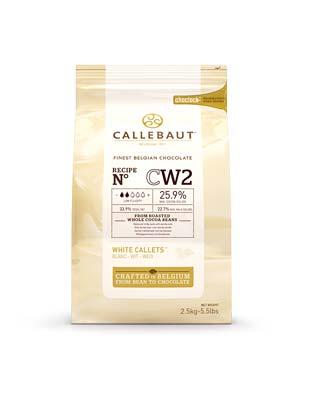 Шоколад белый Callebaut CW2 (2,5 кг)