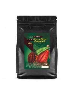 Шоколад темный Extra-Bitter Guayaquil 64% (1 кг)
