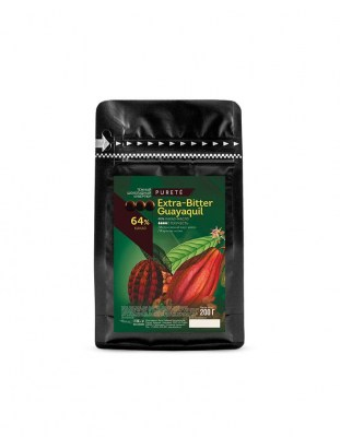 Шоколад темный Extra-Bitter Guayaquil 64% (0.2 кг)