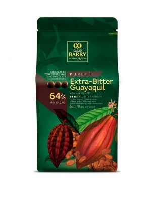 Шоколад темный Extra-Bitter Guayaquil 64% (5 кг)