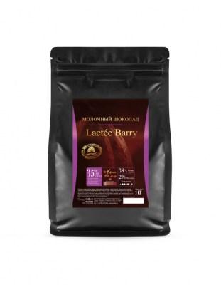 Шоколад молочный Lactee Barry 35% (1 кг)