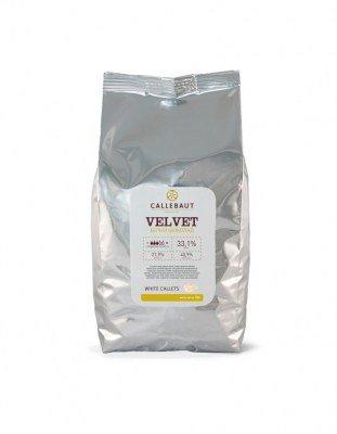 Шоколад белый Callebaut Velvet (1 кг)