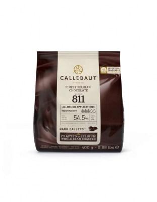 Шоколад темный Callebaut 54,5% (0,4 кг)