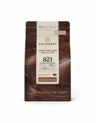 Шоколад молочный Callebaut 823 (1 кг)