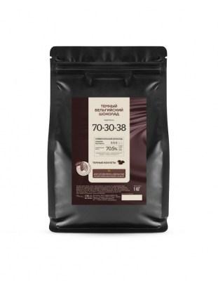 Шоколад горький Callebaut Strong 70,5% (1 кг)