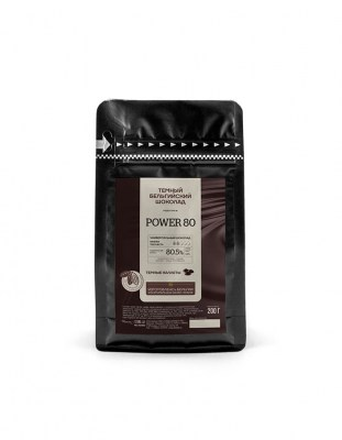 Шоколад горький Callebaut Power 80% (0.2 кг)