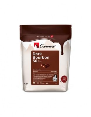 Шоколад темный Carma Bourbon 50% (1,5 кг)