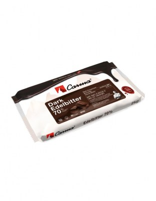 Шоколад горький Carma Edelbitter 70% (2 кг)