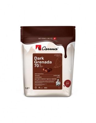 Шоколад горький Carma Grenada 70% (1,5 кг)
