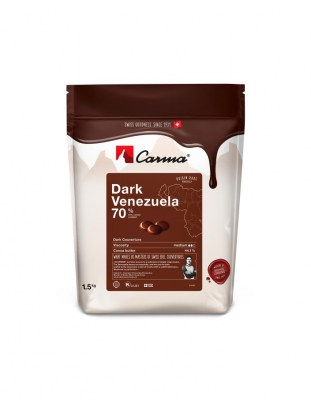 Шоколад горький Carma Venezuela 70% (1,5 кг)