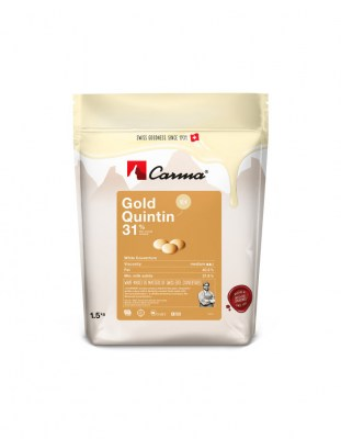 Шоколад Carma Gold Quintin 31% (1,5 кг)