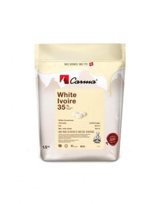 Шоколад белый Carma Ivoire 35% (1,5 кг)