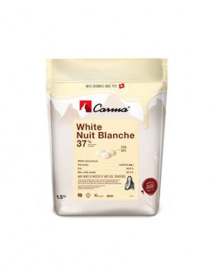 Шоколад белый Carma Nuit Blanche 37% (1,5 кг)