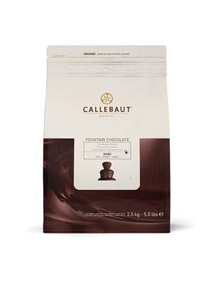 Шоколад для фонтана темный Callebaut (2,5 кг)