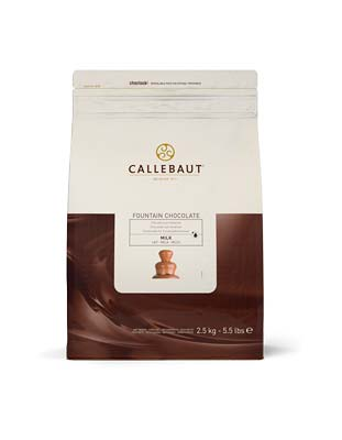 Шоколад для фонтана молочный Callebaut (2,5 кг)
