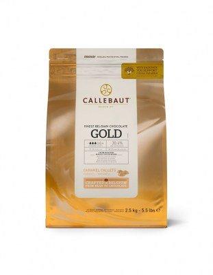 Шоколад Callebaut Gold (2,5 кг)