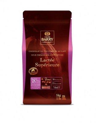 Шоколад молочный Lactee Superieure 38% (5 кг)