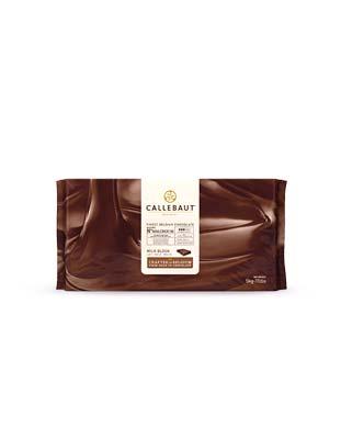 Шоколад без сахара Callebaut молочный 33,9% (5 кг)