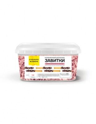 Шоколадные завитки Blossoms Strawberry (0.2 кг)