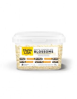 Шоколадные завитки Blossoms White (1 кг)