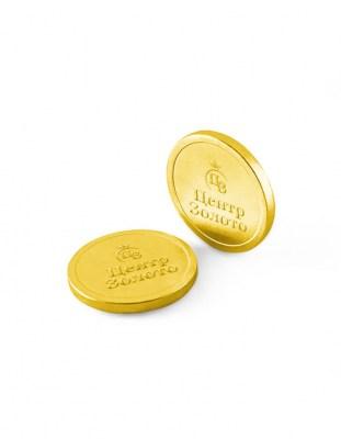 Шоколадные монеты 6 г с логотипом