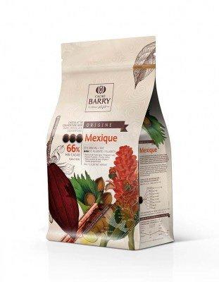 Шоколад темный Mexico 66% Barry (1 кг)