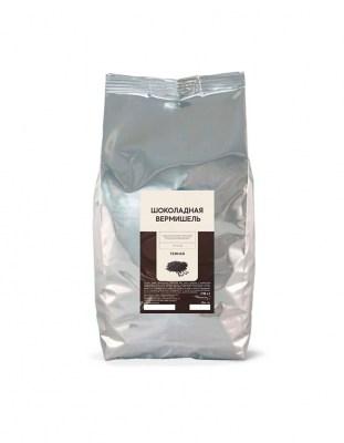 Шоколадная вермишель темная Vermicelli Dark (1 кг)