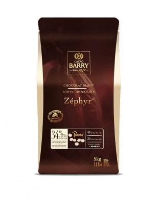 Шоколад белый Zephyr 34% (5 кг)