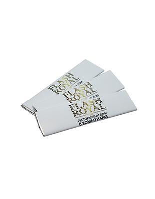 Жевательная резинка с логотипом в пластинке