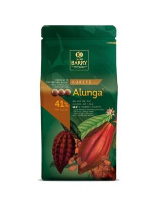 Шоколад молочный Alunga 41% (1 кг)