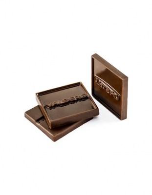 Шоколадный барельеф с логотипом 5 г