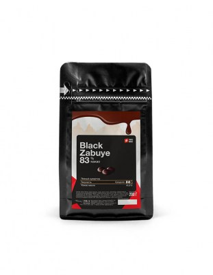 Шоколад горький Carma Black Zabuye 83% (0,2 кг)