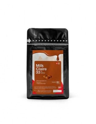 Шоколад молочный Carma Claire 33% (0,2 кг)