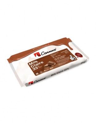 Шоколад молочный Carma Claire 33% (2 кг)