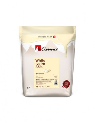 Шоколад белый Carma Ivoire 35% (5 кг)