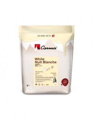 Шоколад белый Carma Nuit Blanche 37% (5 кг)