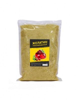 Желатин говяжий гранулированный 180 bloom 1 кг