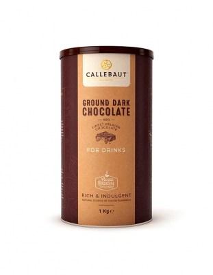 Горячий темный шоколад Callebaut Ground Dark Chocolat 1 кг